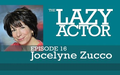 Jocelyne Zucco and the book Audition by Michael Shurtleff