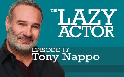 Tony Nappo and the book Audition by Michael Shurtleff